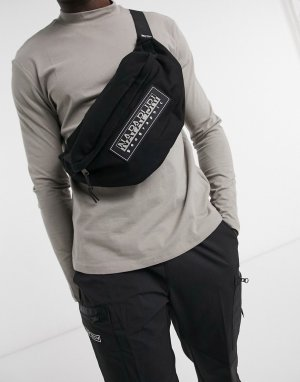 Черная сумка-кошелек на пояс Haset 2-Черный Napapijri