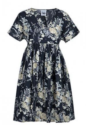 Платье MYTWIN. Цвет: черный