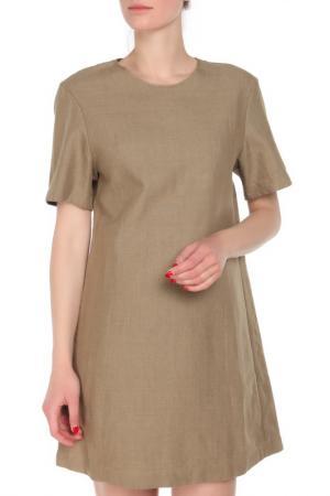 Платье JNBY. Цвет: коричневый