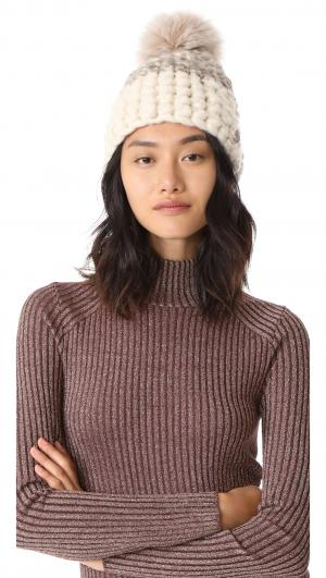 Deep Beanie Colorblock Hat Mischa Lampert
