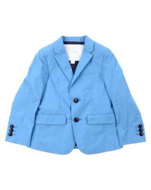 Пиджак BURBERRY. Цвет: лазурный