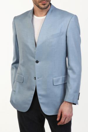 Пиджак Zilli. Цвет: голубой