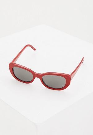 Очки солнцезащитные Saint Laurent SL 316 004. Цвет: красный