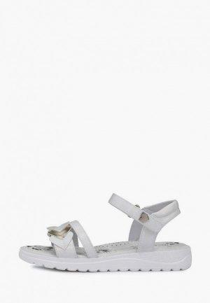 Босоножки T.Taccardi. Цвет: серебряный