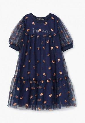 Платье Bell Bimbo. Цвет: синий