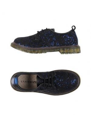 Обувь на шнурках CAFèNOIR. Цвет: синий