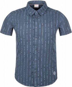 Рубашка с коротким рукавом мужская , размер 48 Merrell. Цвет: синий