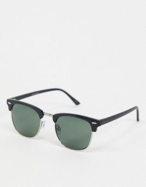 Коричневые квадратные солнцезащитные очки -Коричневый Jack & Jones