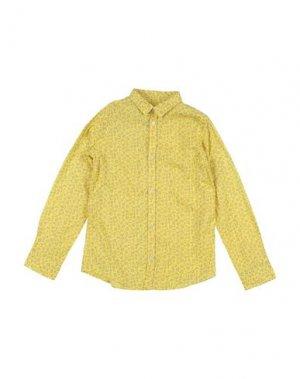 Pубашка GAS. Цвет: желтый