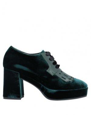 Обувь на шнурках GUIDO SGARIGLIA. Цвет: цвет морской волны