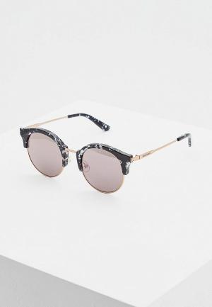 Очки солнцезащитные Juicy Couture JU 601/S GBY. Цвет: черный