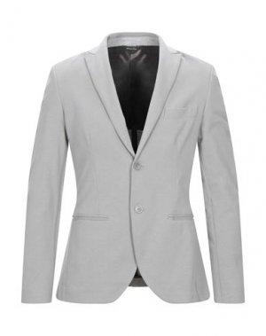 Пиджак YOON. Цвет: светло-серый