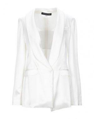 Пиджак FRANCESCA PICCINI. Цвет: белый