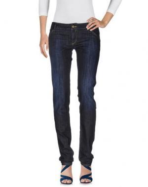 Джинсовые брюки LIMITED EDITION. Цвет: синий
