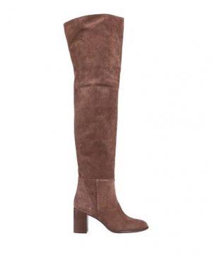 Сапоги ANNA F.. Цвет: коричневый