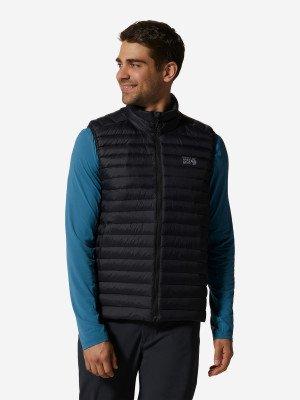 Жилет пуховый мужской Mt Eyak/2™, размер 54 Mountain Hardwear. Цвет: черный