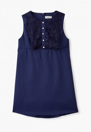 Платье Alessandro Borelli Milano. Цвет: синий