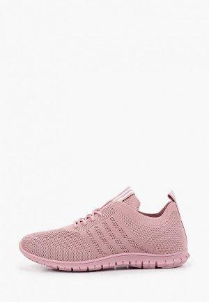 Кроссовки GLAMforever. Цвет: розовый