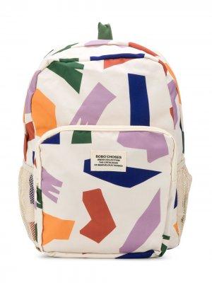 Рюкзак Shadows All Over Bobo Choses. Цвет: нейтральные цвета