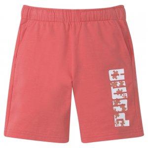 Детские шорты Paw Kids Shorts PUMA. Цвет: розовый