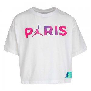 Paris Saint-Germain Boxy Tee Jordan. Цвет: белый
