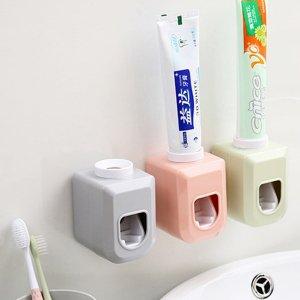 1шт настенная соковыжималка для зубных паст SHEIN. Цвет: многоцветный