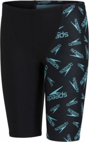 Плавки-шорты для мальчиков , размер 152 Speedo. Цвет: черный