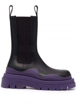 BV Tire mid-calf boots Bottega Veneta. Цвет: черный