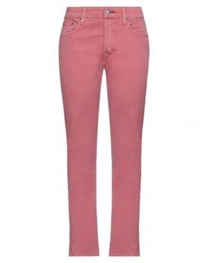 Повседневные брюки HTC. Цвет: пастельно-розовый