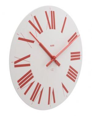 Настенные часы ALESSI. Цвет: красный