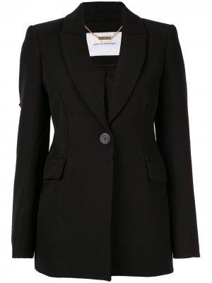 Приталенный пиджак Bernardi CAMILLA AND MARC. Цвет: черный