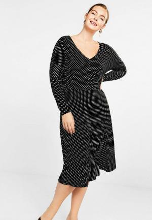 Платье Violeta by Mango - MELISA. Цвет: черный