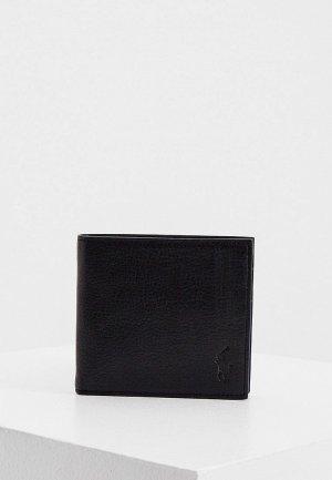 Кошелек Polo Ralph Lauren. Цвет: черный