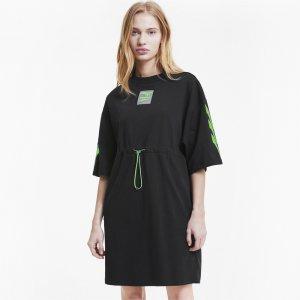 Платье Evide Dress PUMA. Цвет: черный