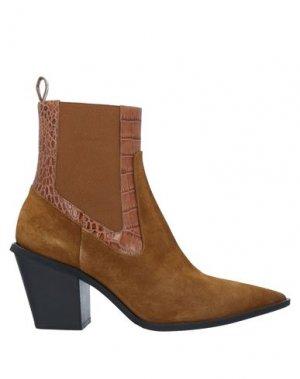 Полусапоги и высокие ботинки GIANCARLO PAOLI. Цвет: коричневый