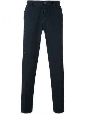 Классические брюки-чинос Etro. Цвет: синий