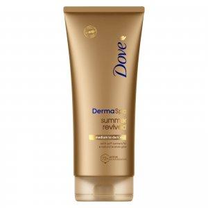 Восстанавливающий лосьон для тела кожи средних и темных тонов Dove DermaSpa Summer Revived (200 мл)