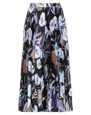 Длинная юбка LEONARD Paris. Цвет: черный