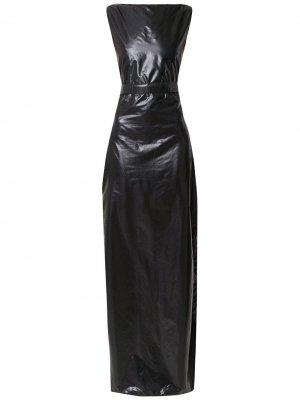 Long panelled dress Amir Slama. Цвет: черный