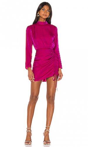 Мини платье yasmine Finders Keepers. Цвет: фуксия