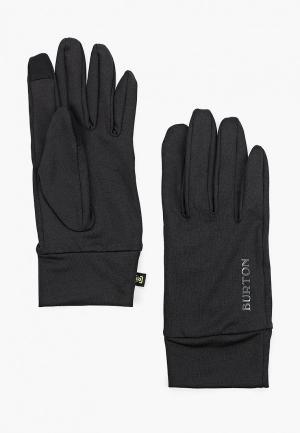 Перчатки Burton TOUCHSCREEN LINER. Цвет: черный