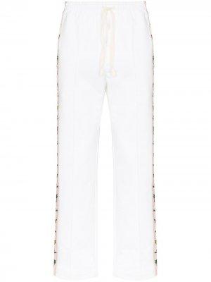 Спортивные брюки Apres Mer Casablanca. Цвет: белый