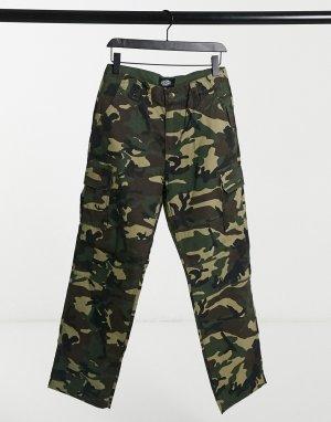 Камуфляжные брюки Meldrim-Зеленый Dickies