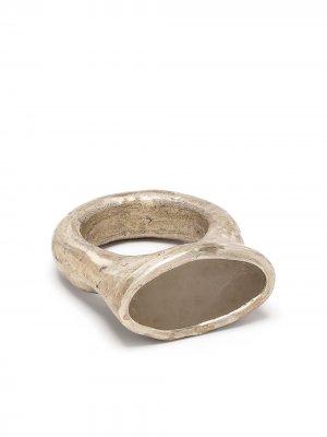 Перстень Roman Parts of Four. Цвет: серебристый
