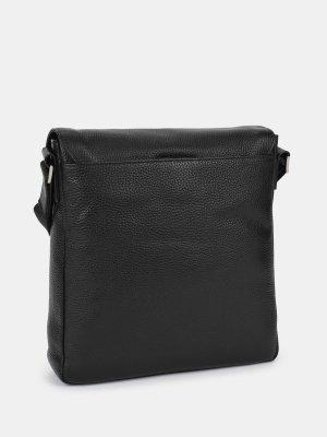 Кожаная сумка Cerruti 1881. Цвет: chernyy