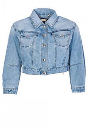 Куртка JUST CAVALLI. Цвет: синий