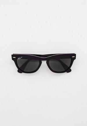 Очки солнцезащитные Ray-Ban® RB2201 901/58. Цвет: черный