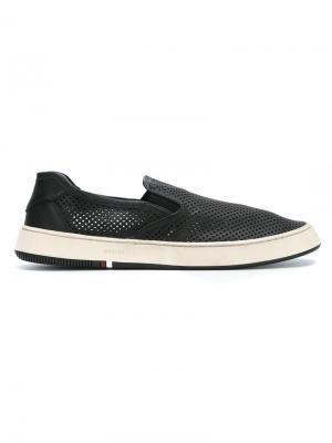 Leather sneakers Osklen. Цвет: черный