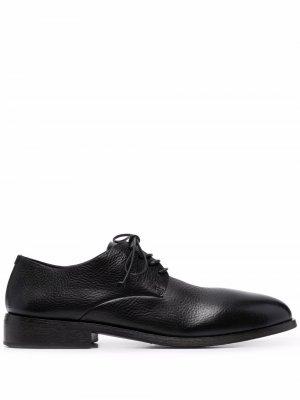 Sassone leather derby shoes Marsèll. Цвет: черный