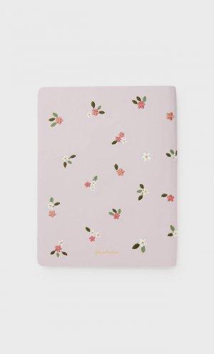 Ежедневник В Обложке С Вышивкой Цвет Розового Макияжа 103 Stradivarius. Цвет: цвет розового макияжа